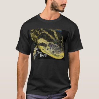 Stop The Ban! Yellow Anaconda T-Shirt