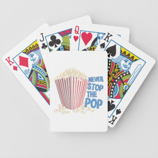 Stop The Pop Bicycle Playing Cards