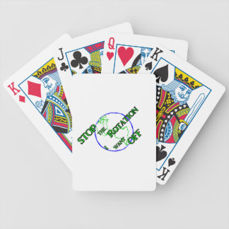 Stop the Rotation Poker Deck