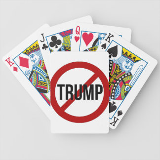 Stop Trump Bicycle Playing Cards