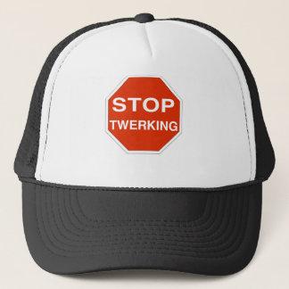 Stop Twerking Trucker Hat