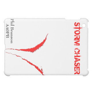 STORM CHASER iPad Case w/ Name & Call