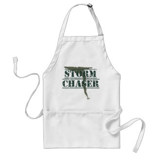 Storm Chaser Rubber Stamp and Funnel Standard Apron