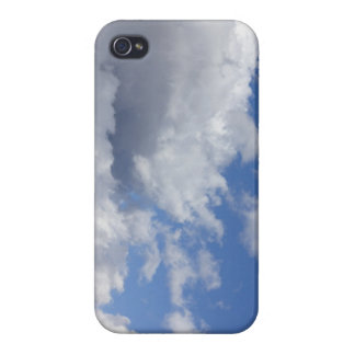 Storm Clouds in a Blue Sky iPhone 4/4S Cases