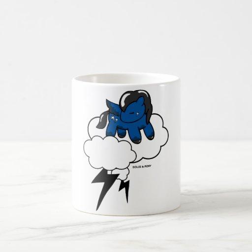 Storm Pony | White Mug Dolce & Pony