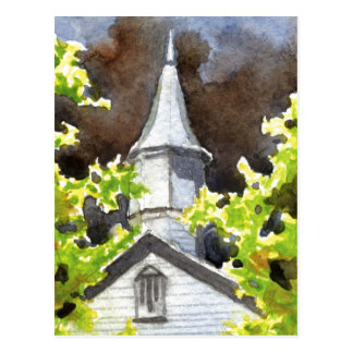"""Storm's Coming #5"" Country Roads Postcard"