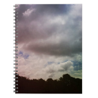 Stormy in Boothbay Photo Notebook (80 Pages B&W)
