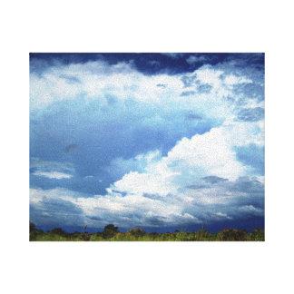 Stormy Skies Canvas Prints