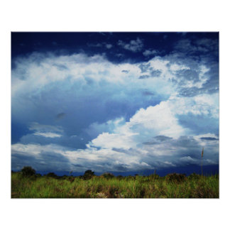 Stormy Skies Perfect Poster