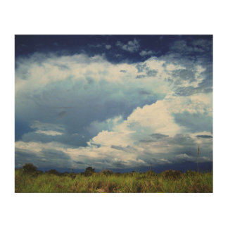 Stormy Skies Wood Canvases