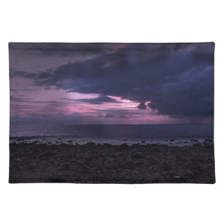 Stormy Sunset Place Mats