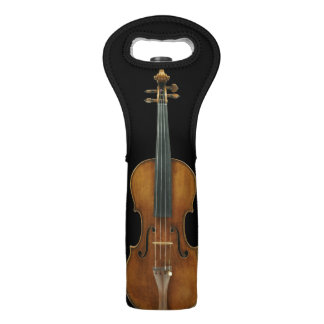 Stradivari Violin Wine Bag