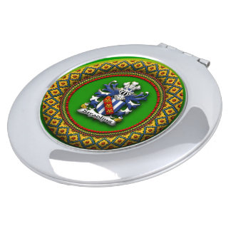 Stradling Family Crest Compact Makeup Mirror