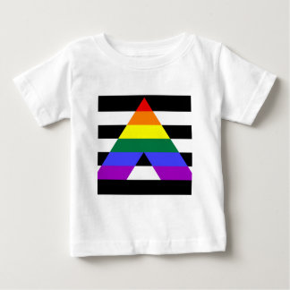 Straight Ally flag Baby T-Shirt