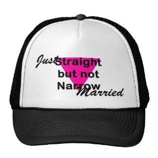 straight but not narrow cap