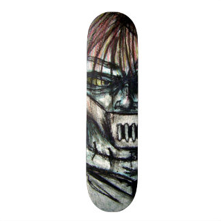 Straight Jacket Psycho Killer for Halloween 21.6 Cm Skateboard Deck