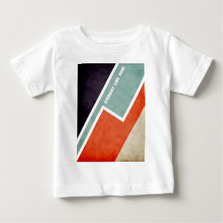 Straight Line Here Baby T-Shirt