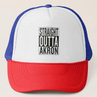 straight outta Akron Trucker Hat