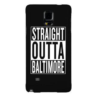 straight outta Baltimore Galaxy Note 4 Case