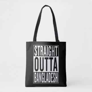 straight outta Bangladesh Tote Bag