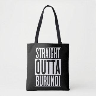 straight outta Burundi Tote Bag