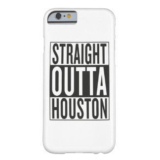 straight outta Houston Barely There iPhone 6 Case