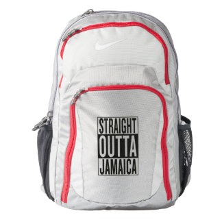 straight outta Jamaica Backpack
