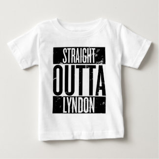 Straight Outta Lyndon (Louisville, Kentucky) Baby T-Shirt