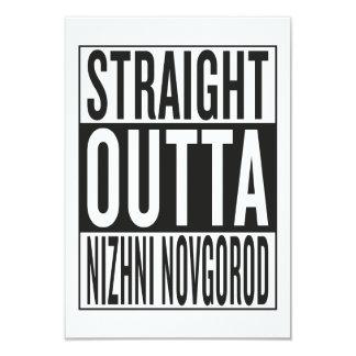 straight outta Nizhni Novgorod Card