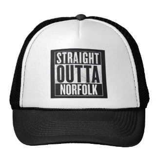 Straight Outta Norfolk Cap