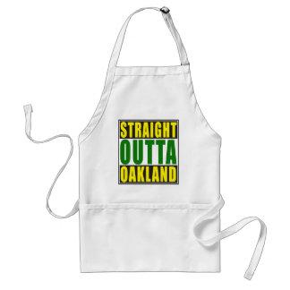 Straight Outta Oakland Green Standard Apron