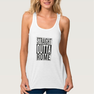 straight outta Rome Singlet