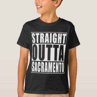 Straight Outta Sacramento California T-Shirt