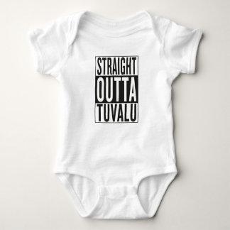 straight outta Tuvalu Baby Bodysuit