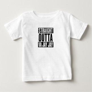 Straight Outta Va jay jay funny Baby T-Shirt