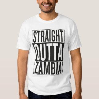 straight outta Zambia Shirt