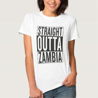 straight outta Zambia T-shirts