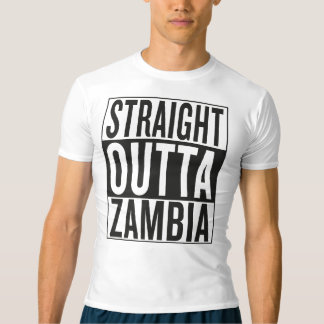 straight outta Zambia Tees