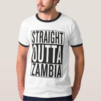 straight outta Zambia Tshirts