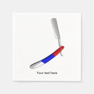 Straight Razor Shaving Blade Disposable Serviette