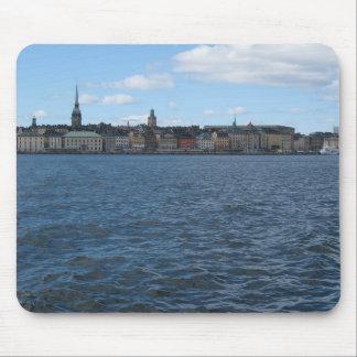 Strandvägen, Stockholm. Mouse Pad