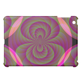 Strange Eight - Weird Pink Abstract iPad Mini Cover