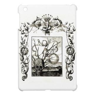 strange Gothic Art Cupid Skull Death ipad mini iPad Mini Cases