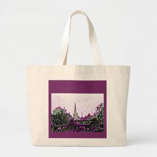 Stratford-upon-Avon England Purple Garden jGibney Large Tote Bag