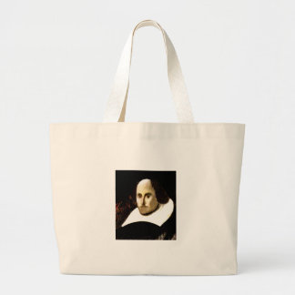 Stratford-upon-Avon Shakespeare's Portrait jGibne Large Tote Bag