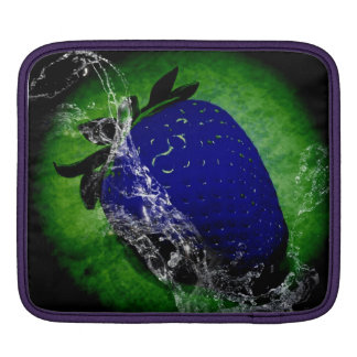 strawberry blue iPad sleeve