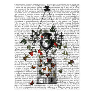 Strawberry Chandelier Postcard