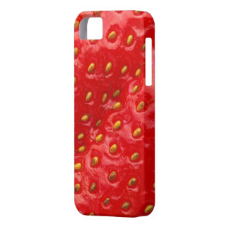 Strawberry Closeup iPhone 5 Cases