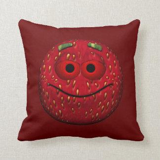 Strawberry Emoticon Cushion