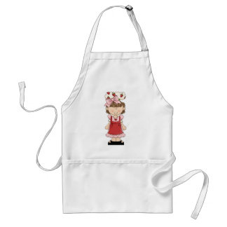 Strawberry Girl_1 on an Apron